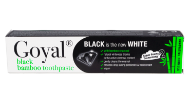 black bamboo toothpaste
