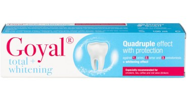 Total + Whitening toothpaste