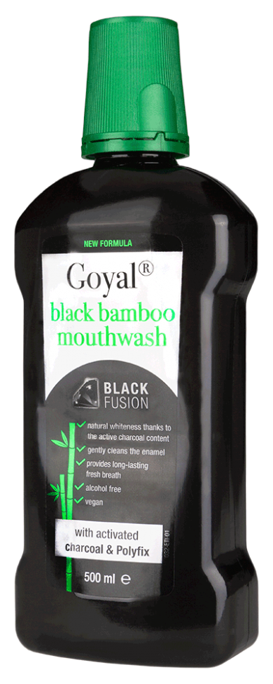 Black Bamboo Mouthwash